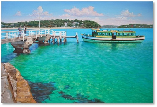 Bundeena ferry